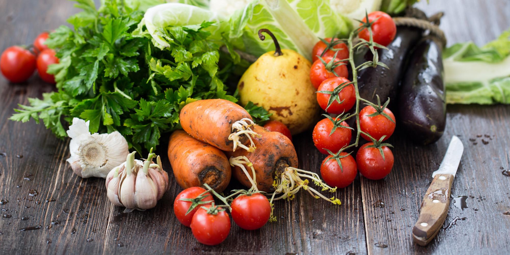 Fresh vegetables from farmers market