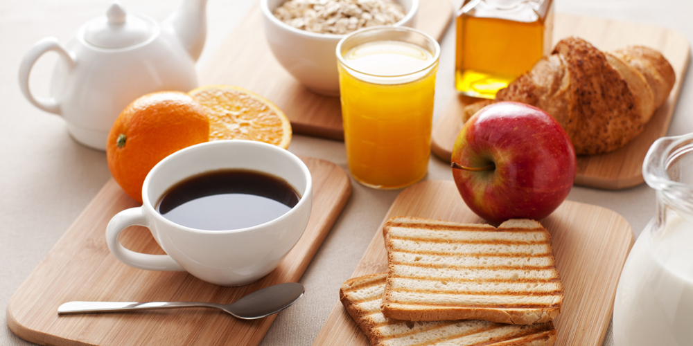 Healthy breakfast on the table close up; Shutterstock ID 98215301; PO: aol; Job: production; Client: drone